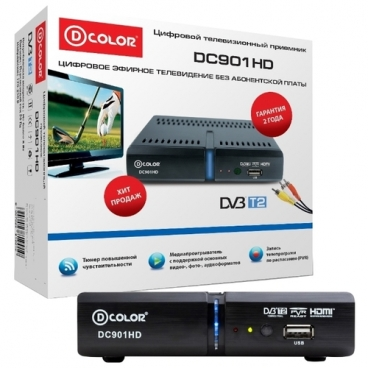 TV-тюнер D-COLOR DC901HD