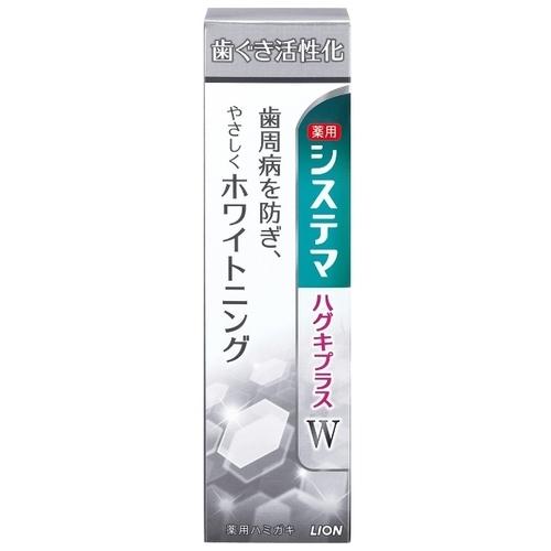 Зубная паста Lion Dentor Systema Gums Plus White