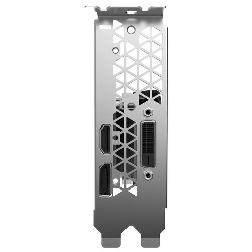 Видеокарта ZOTAC GeForce GTX 1050 Ti 1290Mhz PCI-E 3.0 4096Mb 7000Mhz 128 bit DVI HDMI HDCP Low Profile