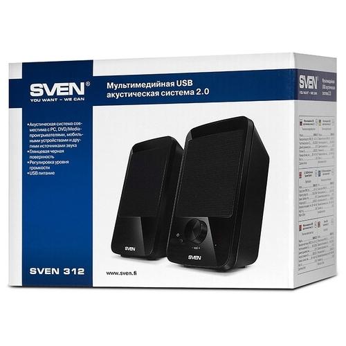 Компьютерная акустика SVEN 312