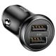 Автомобильная зарядка Baseus Dual-USB Car Charger 4.8A CCALL-GB01/GB09