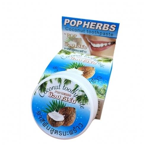 Зубная паста POP Popular Coconut