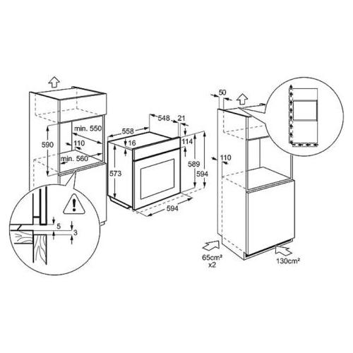 Электрический духовой шкаф Electrolux EOB 96850 AV
