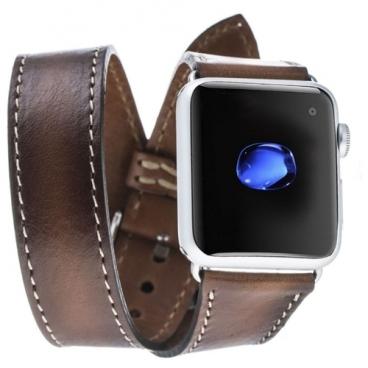 Bouletta Кожаный ремешок Double Tour для Apple Watch 42/44 мм (RST2EF)