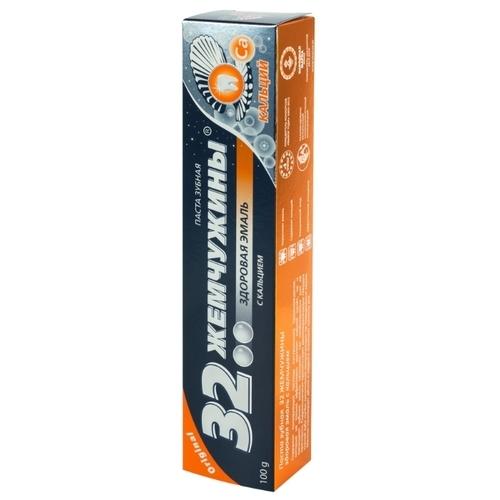 Зубная паста Modum 32 Жемчужины здоровая эмаль с кальцием