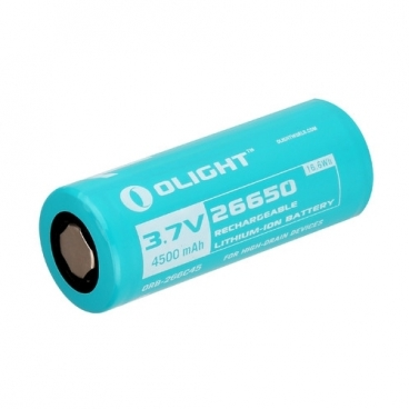 Аккумулятор Li-Ion 4500 мА·ч Olight 26650 ORB-266C45