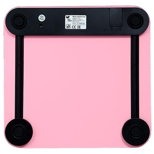 Весы Kitfort КТ-804-2 розовый
