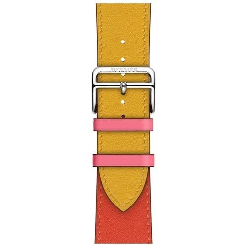 Apple Ремешок Hermès Simple Tour из кожи Swift (для корпуса 44 мм)