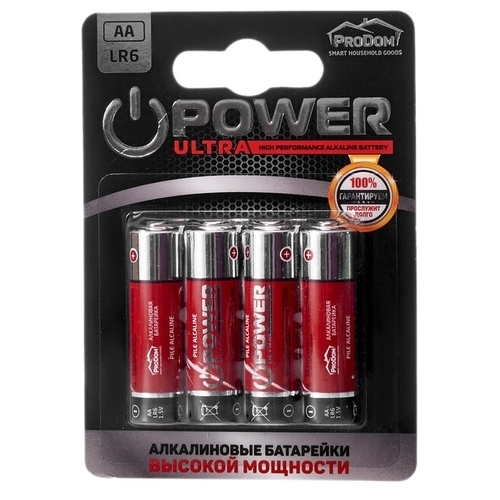 Батарейка ProDom Power Ultra AA/LR6