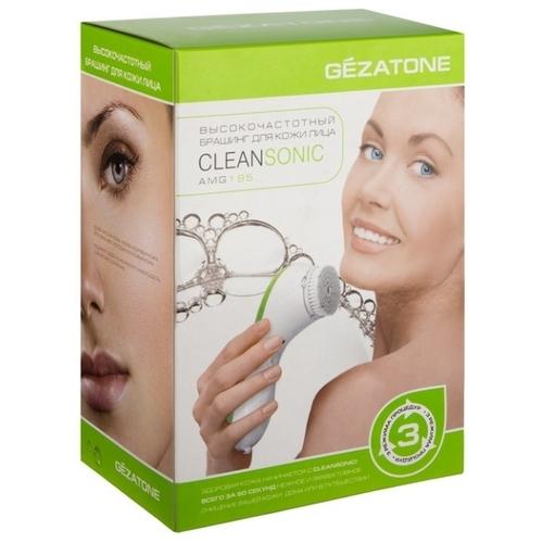 Gezatone Щетка для чистки кожи лица Sonicleanse AMG195