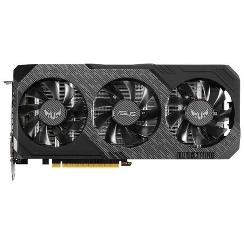 Видеокарта ASUS GeForce GTX 1660 Ti 1530MHz PCI-E 3.0 6144MB 12002MHz 192 bit DVI 2xHDMI DisplayPort HDCP TUF Gaming X3 OC