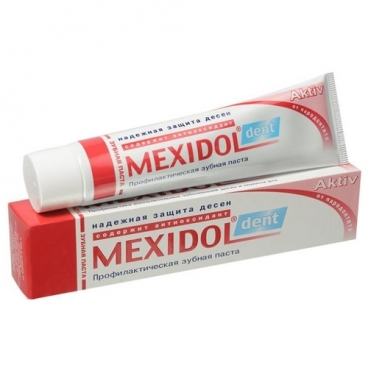 Зубная паста Мексидол Aktiv