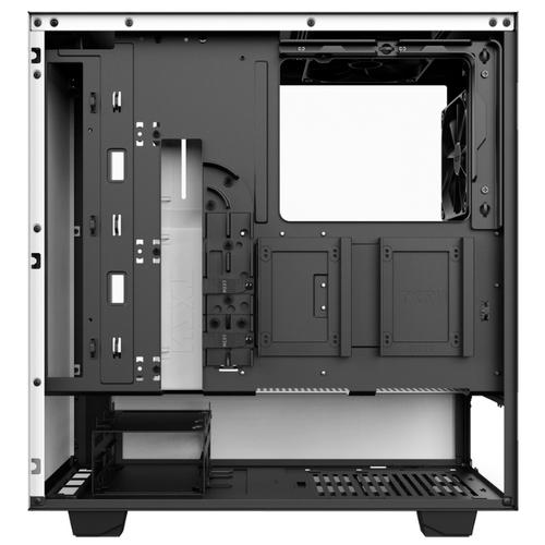 Компьютерный корпус NZXT H500 White/black