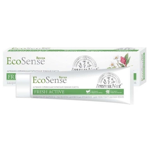 Зубная паста Весна Ecosense Fresh Active