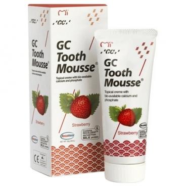 Зубной гель GC Corporation Tooth mousse, клубника