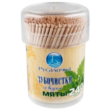 Русалочка зубочистки со вкусом мяты