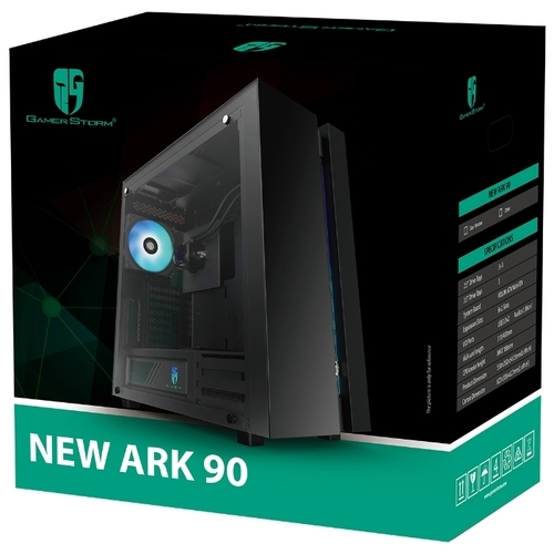 Компьютерный корпус Deepcool New Ark 90MC Black