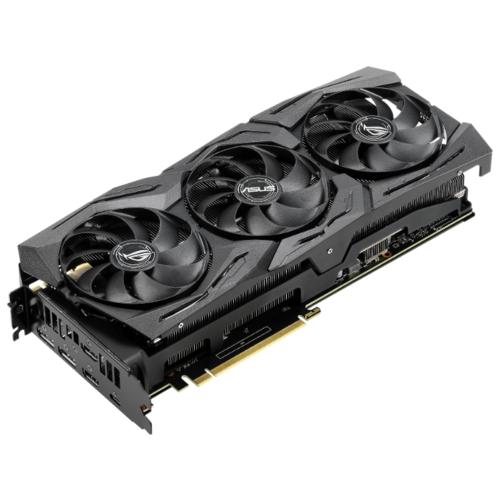 Видеокарта ASUS ROG GeForce RTX 2080 SUPER 1650MHz PCI-E 3.0 8192MB 15500MHz 256 bit 2xDisplayPort 2xHDMI HDCP Strix Gaming OC