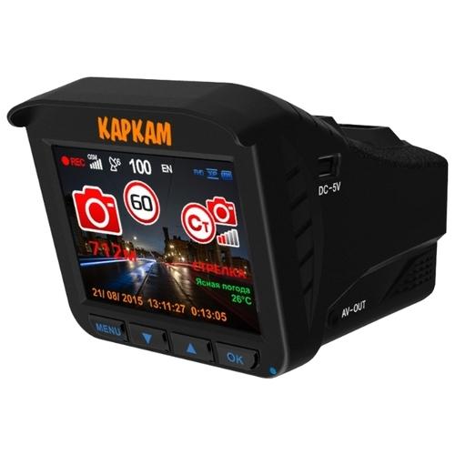 Видеорегистратор с радар-детектором CARCAM Комбо 3, GPS, ГЛОНАСС
