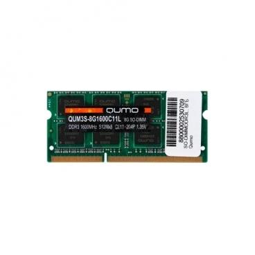 Оперативная память 8 ГБ 1 шт. Qumo QUM3S-8G1600C11L