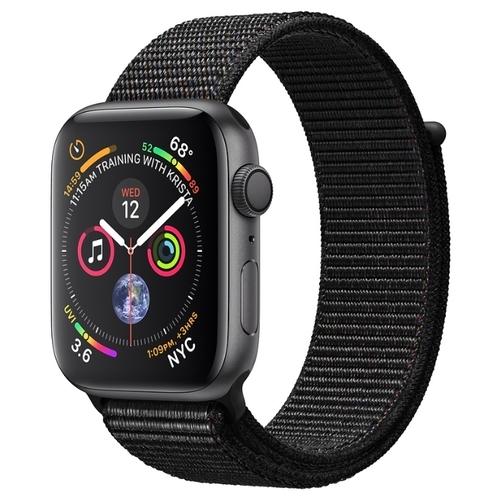 Часы Apple Watch Series 4 GPS 44mm Aluminum Case with Sport Loop