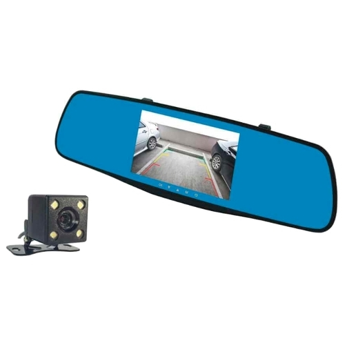 Видеорегистратор Fujida Zoom Mirror, 2 камеры