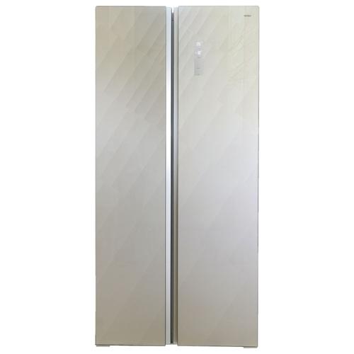 Холодильник Ginzzu NFK-465 Gold glass