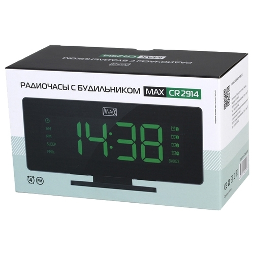 Радиобудильник Max CR-2914