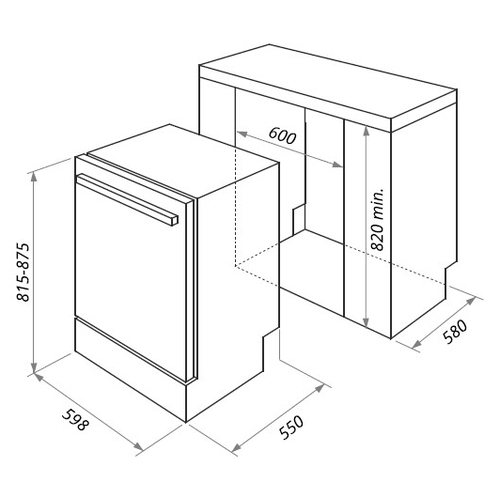 Посудомоечная машина MAUNFELD MLP-12i