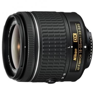 Объектив Nikon 18-55mm f/3.5-5.6G AF-P DX