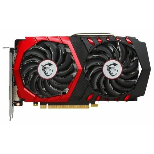 Видеокарта MSI GeForce GTX 1050 1354Mhz PCI-E 3.0 2048Mb 7008Mhz 128 bit DVI HDMI HDCP GAMING
