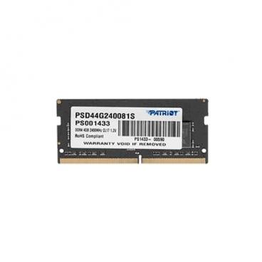 Оперативная память 4 ГБ 1 шт. Patriot Memory PSD44G240081S