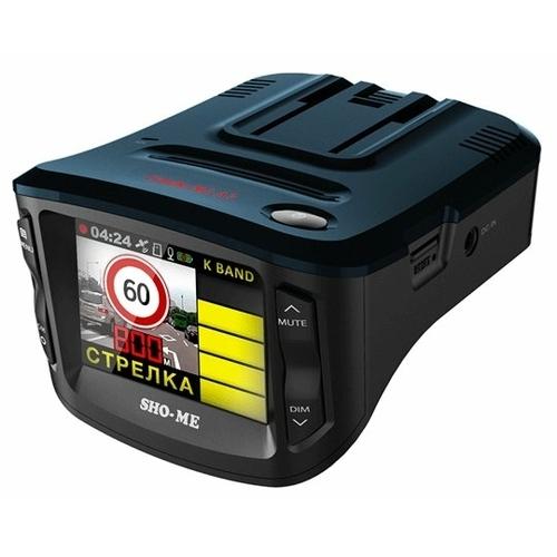 Видеорегистратор с радар-детектором SHO-ME Combo №1 А7, GPS