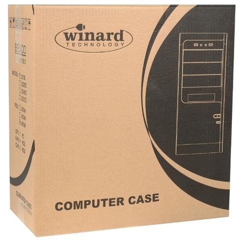 Компьютерный корпус Winard 3010 w/o PSU Black