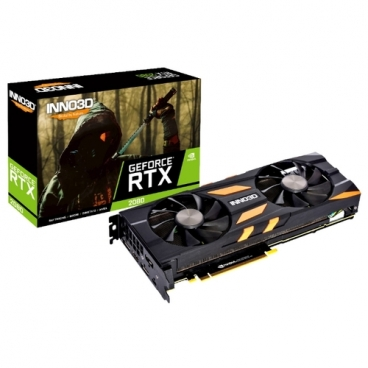 Видеокарта INNO3D GeForce RTX 2080 1755MHz PCI-E 3.0 8192MB 14000MHz 256 bit HDMI HDCP X2 OC