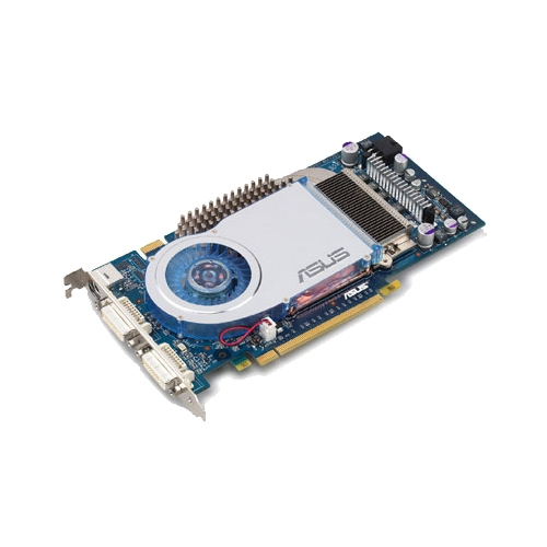 Видеокарта ASUS GeForce 6800 GT 350Mhz PCI-E 256Mb 1000Mhz 256 bit 2xDVI TV