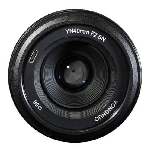 Объектив YongNuo 40mm f/2.8 Nikon F