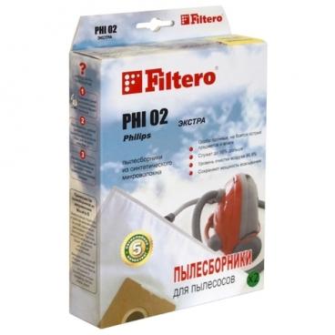 Filtero Мешки-пылесборники PHI 02 Экстра