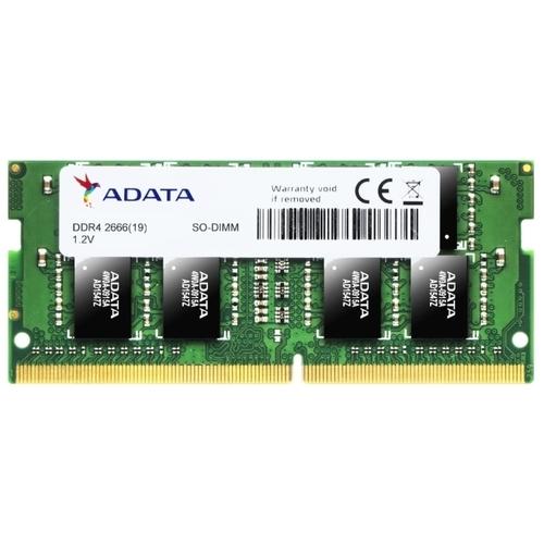 Оперативная память 8 ГБ 1 шт. ADATA DDR4 2666 SO-DIMM 8Gb
