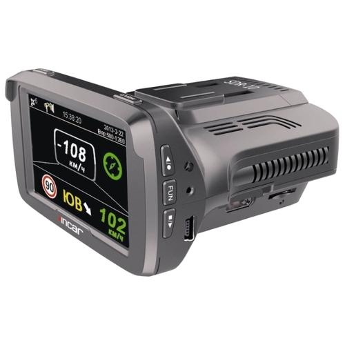Видеорегистратор с радар-детектором INCAR SDR-10, GPS