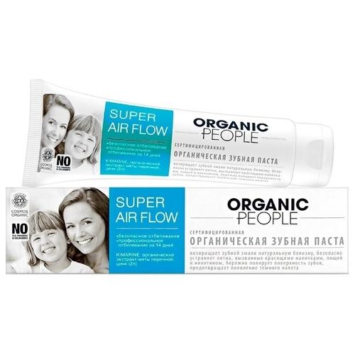 Зубная паста Organic People Super air flow, мята