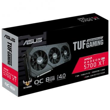 Видеокарта ASUS TUF Radeon RX 5700 XT 1650 MHz PCI-E 4.0 8192MB 14000MHz 256 bit HDMI 3xDisplayPort HDCP GAMING X3 OC