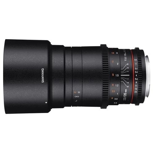 Объектив Samyang 135mm T2.2 ED UMC VDSLR Nikon F
