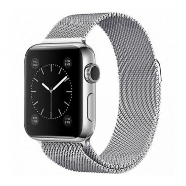Devia Ремешок стальной Milanese Loop для Apple Watch 42/44mm