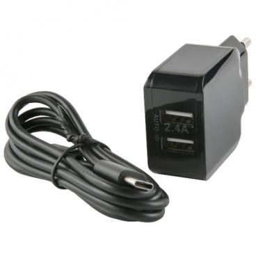Сетевая зарядка Red Line NC-2.4A + USB Type-C
