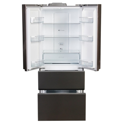 Холодильник Leran RFD 539 IX NF