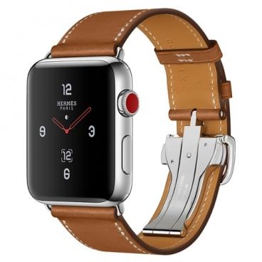 Часы Apple Watch Hermès Series 3 42mm with Single Tour Deployment Buckle