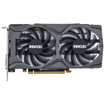 Видеокарта INNO3D GeForce GTX 1650 SUPER 1755MHz PCI-E 3.0 4096MB 12000MHz 128 bit DVI DisplayPort HDMI HDCP TWIN X2 OC