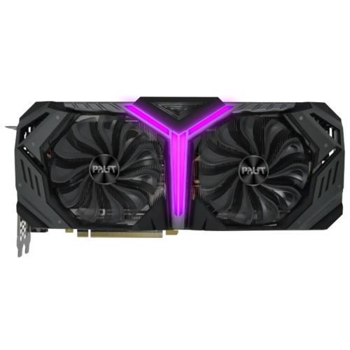 Видеокарта Palit GeForce RTX 2080 SUPER 1650MHz PCI-E 3.0 8192MB 15500MHz 256 bit HDMI HDCP GameRock