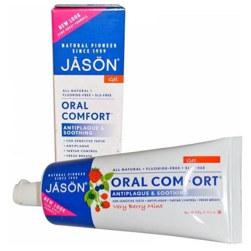 Зубная паста JASON Oral Comfort Ягодная мята